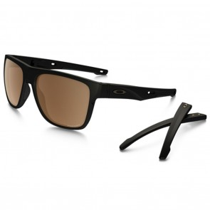 Oakley CROSSRANGE XL Matte Black Prizm Tungsten Polarized Sunglasses