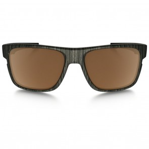 Oakley CROSSRANGE Woodgrain Prizm Tungsten Polarized Sunglasses