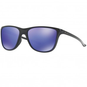 Oakley REVERIE Black Ink Violet Iridium Sunglasses