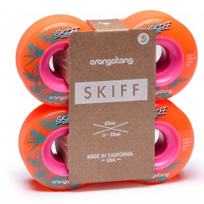 Orangatang Skiff Orange Longboard Wheels - 62mm 80a