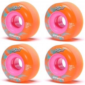 Orangatang Skiff Orange 62mm 80a Longboard Wheels