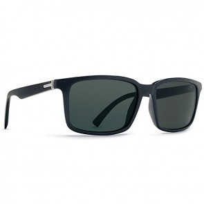 VonZipper PINCH Black Gloss with Vintage Grey Sunglasses-SMRFAPIN-BKV