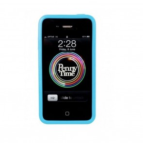 Penny iPhone Cover Blue