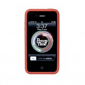 Penny iPhone Cover Red
