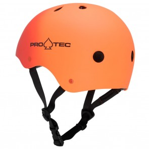 Pro-Tec The Classic Helmet - Rubber Red / Orange Fade