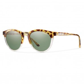 Smith QUESTA Amber Tortoise / Polarized Grey Green Sunglasses