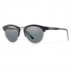 Smith QUESTA Matte Black Crystal Polarized Grey Sunglasses