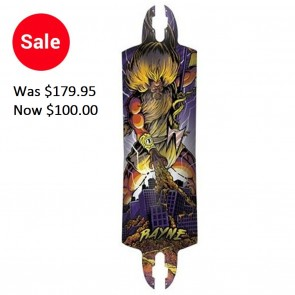 Rayne K. Rimes Mini Kill Switch Longboard Deck - Drop Thru - Purple (2011)