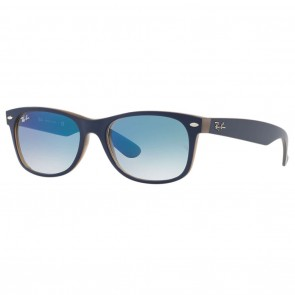 Ray-Ban RB2132 NEW WAYFARER 52mm Matte Blue Blue Gradient Sunglasses