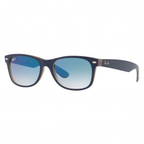 Ray-Ban RB2132 NEW WAYFARER 55mm Blue Light Blue Gradient Sunglasses