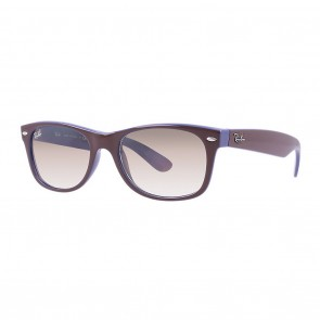 Ray-Ban RB2132 NEW WAYFARER COLOR MIX 55mm Sunglasses in Brown, Blue w/ Light Brown Gradient