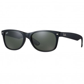 Ray-Ban RB2132 NEW WAYFARER 58mm Black / Green Classic G-15 Sunglasses