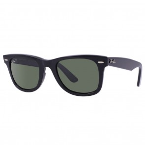 Ray-Ban RB2140 ORIGINAL WAYFARER Sunglasses - Black Green Classic G-15 Polarized