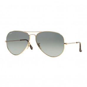 Ray-Ban AVIATOR HAVANA COLLECTION 58mm Gold w/ Grey Gradient Sunglasses