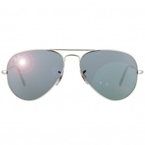 Ray-Ban RB3025 AVIATOR 55mm Silver Grey Mirror Sunglasses