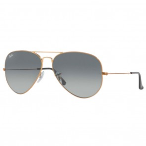 Ray-Ban RB3026 AVIATOR Large Metal 2 62mm Bronze-Copper Grey Gradient Sunglasses