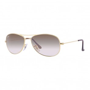 Rayban RB3362 COCKPIT 59mm Gold Light Brown Gradient Sunglasses