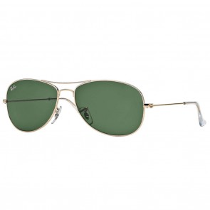 Ray-Ban RB3362 COCKPIT Sunglasses - Gold Green Classic G-15