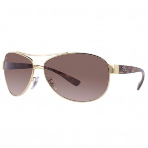 Ray-Ban RB3386 63mm Gold-Tortoise Brown Gradient Sunglasses