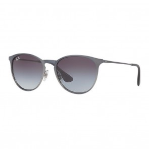 Ray-Ban RB3539 ERIKA METAL 54mm Grey w/ Grey Gradient Sunglasses