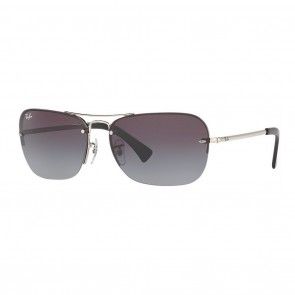 Ray-Ban RB3541 61mm Silver w/ Grey Gradient Sunglasses