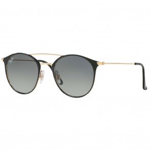 Ray-Ban RB3546 52mm Black-Gold Grey Gradient Sunglasses