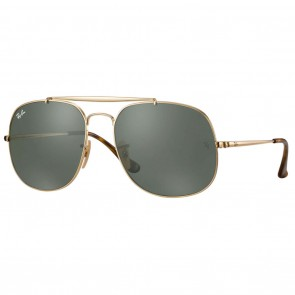Ray-Ban GENERAL 57mm Gold Green Classic G-15 Sunglasses