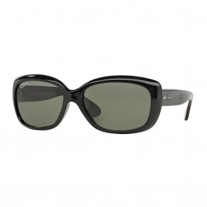Rayban RB4101 JACKIE OHH 58mm Black Polarized Green Classic G-15 Sunglasses
