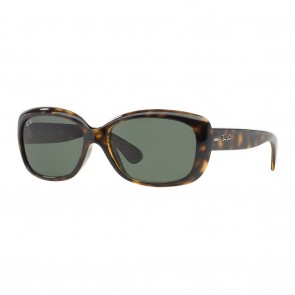 Rayban RB4101 JACKIE OHH 58mm Tortoise Green Classic G-15 Sunglasses