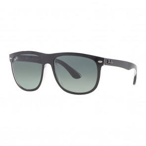 Ray-Ban RB4147 60mm Sunglasses in Black, Transparent w/ Grey Gradient