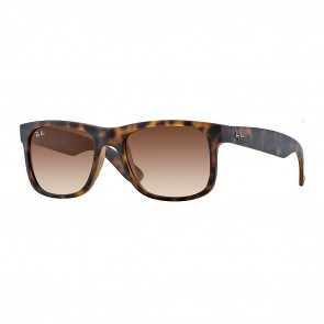 Ray-Ban RB4165 JUSTIN 55mm Tortoise w/ Brown Gradient Sunglasses