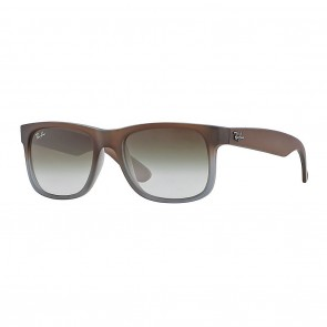 Ray-Ban RB4165 JUSTIN 55mm Sunglasses in Brown w/ Green Gradient