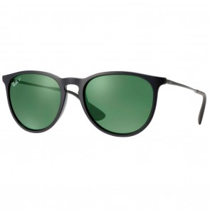 Ray-Ban RB4171 ERIKA 54mm Black Polarized Green Classic G-15 Sunglasses