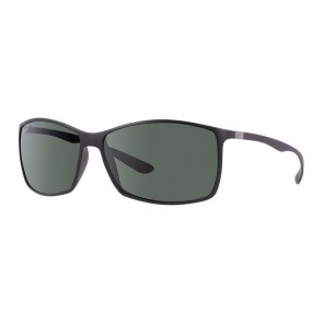 Rayban RB4179 LITEFORCE 62mm Black Polarized Green Classic G-15 Sunglasses