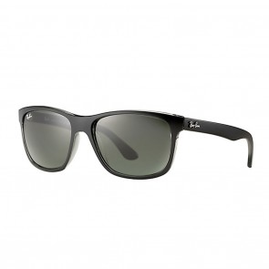 Ray-Ban RB4181 57mm Black Grey w/ Green Classic Sunglasses