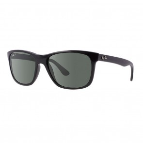 Rayban RB4181 57mm Black Polarized Green Classic G-15 Sunglasses