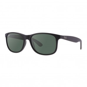 Rayban RB4202 ANDY 55mm Black Green Classic Sunglasses
