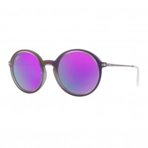 Rayban RB4222 50mm Violet Violet Mirror Sunglasses