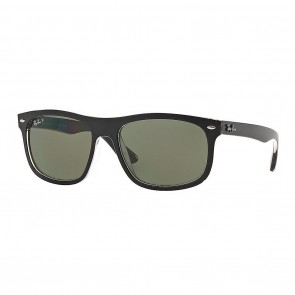 Ray-Ban RB4226 59mm Sunglasses in Black w/ Polarized Green Classic G-15