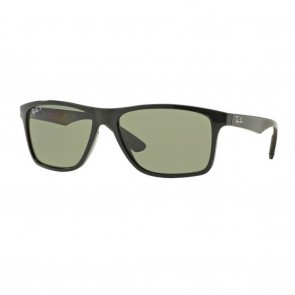 Ray-Ban RB4234 58mm Sunglasses in Black w/ Polarized Green