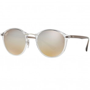 Ray-Ban RB4242 49mm Transparent Brown Silver Gradient Flash Sunglasses