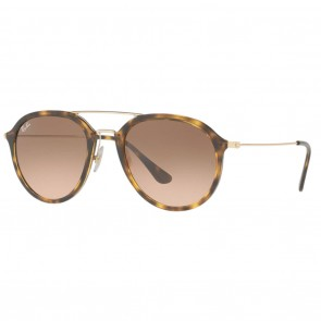 Ray-Ban RB4253 53mm Tortoise Gold Pink / Brown Gradient Sunglasses