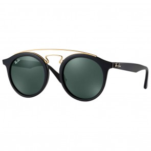 Ray-Ban GATSBY I 49mm Black Gold w/ Green Classic Sunglasses