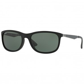 Ray-Ban RB4267F Sunglasses 59mm Matte Black Green