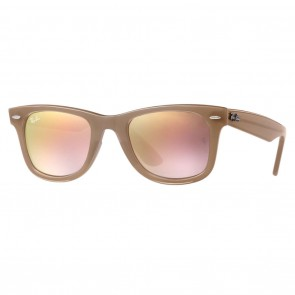 Ray-Ban RB4340 WAYFARER EASE 50mm Beige Copper Gradient Flash Sunglasses