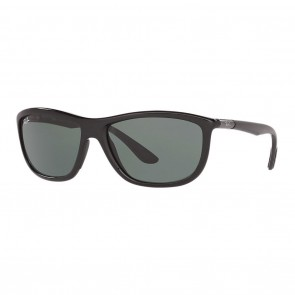Ray-Ban RB8351 60mm Black Grey w/ Green Classic Sunglasses