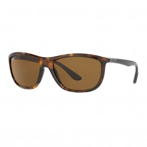 Ray-Ban RB8351 60mm Tortoise Grey w/ Brown Classic B-15 Sunglasses