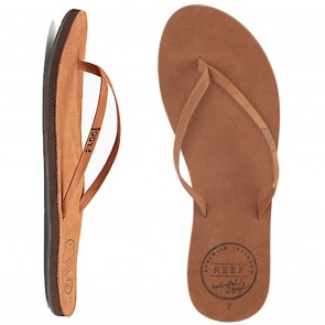 Reef Leather Uptown Womens Sandals - Cocoa