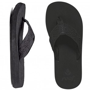 Reef Sandy Womens Sandals - Black / Black
