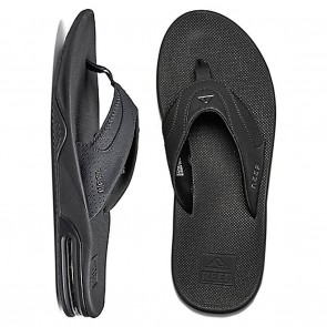 Reef Fanning Mens Sandals - All Black